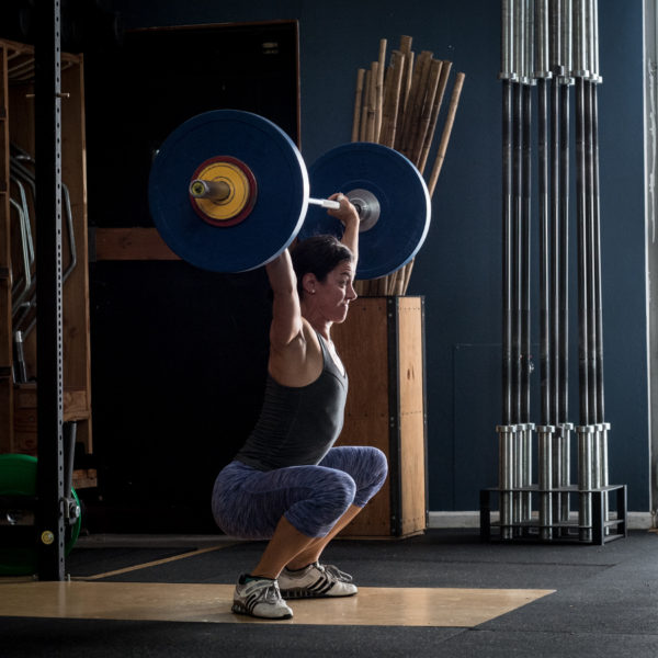 Weight Lifter: Crossfit