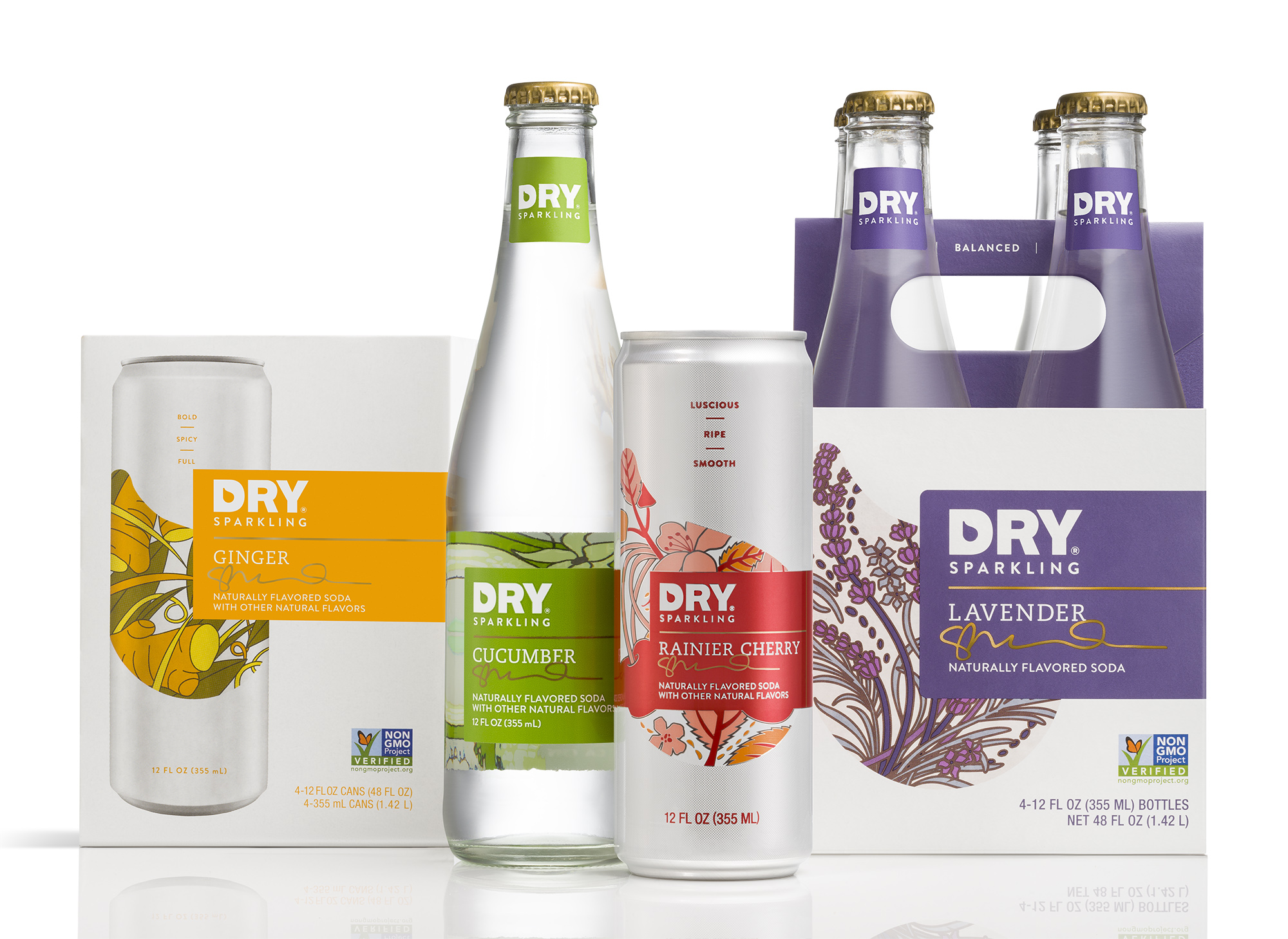 Dry Sparkling Group Image