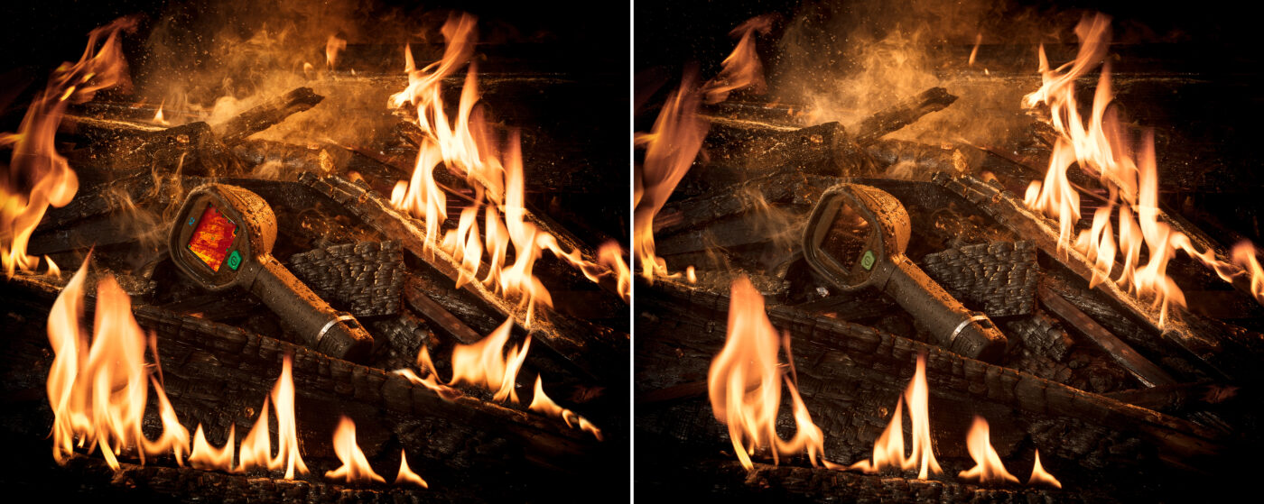 After and Before - FLIR FIRE