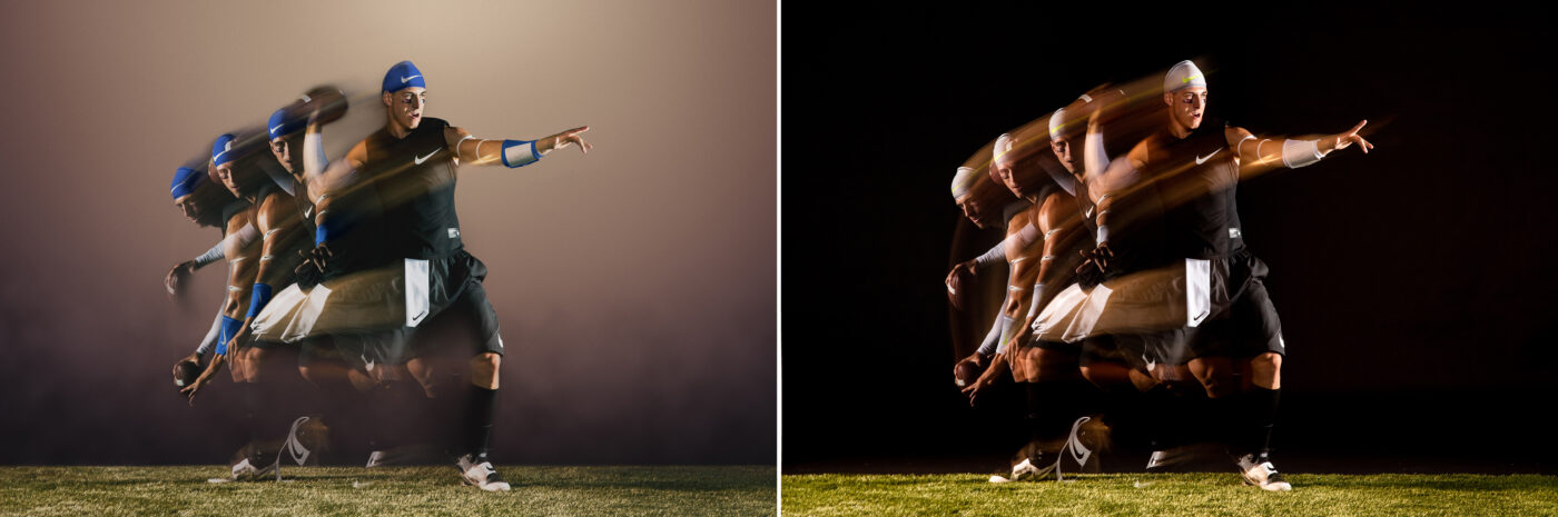 After and Before - Nike Football