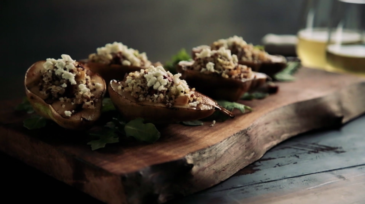 Video: Grilled Stuffed Pears