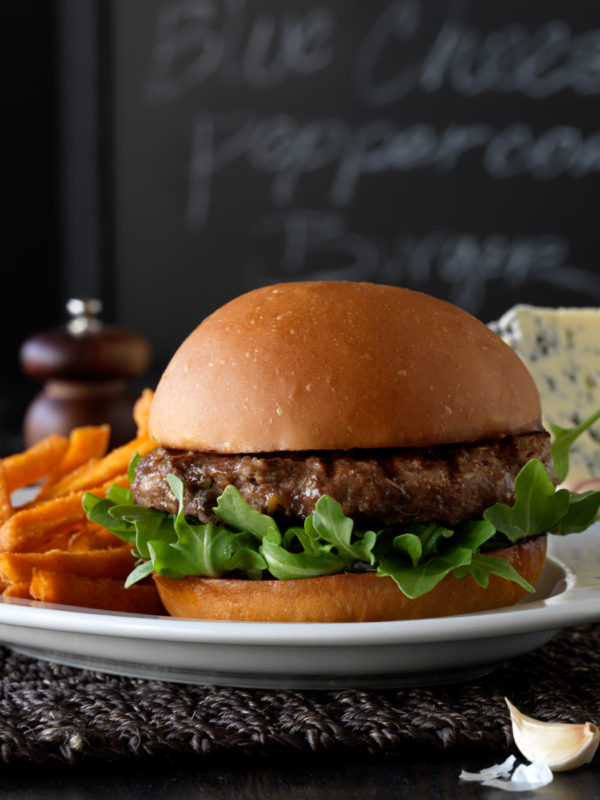 Blue Peppercorn Burger